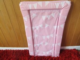 PINK BABY CHANGING MAT NOT BEEN USED