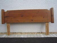 solid pine head board