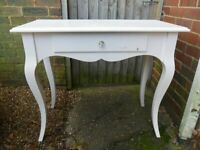 Modern Console Table with Drawer/Dressing Table-Furniture-Upcycle