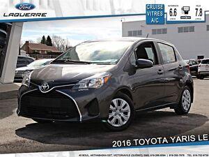 2016 Toyota Yaris **LE*AUTOMATIQUE* CRUISE*A/C*