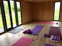 Yoga at Hillside Studios set in lovely rural surroundings yet only 5 mins from Cribbs Causeway