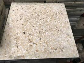 Natural granite paving slabs (L)300mm (W)300mm