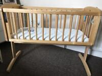 Baby swinging cot mothercare