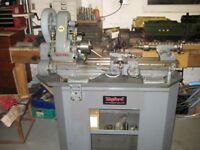 Myford ML7 Lathe on Myford Stand and Drip tray