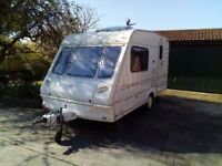 Abbey 380 Expression 2 Berth Touring Cravan Superb Condition