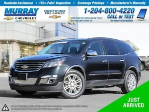 2014 Chevrolet Traverse 1LT *Climate Control, Rear View Camera,