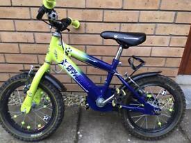 Raleigh striker football bike