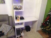 Computer desk/decorative shelf/book case/living room