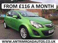 2013 VAUXHALL CORSA SE 1.2 ** FINANCE AVAILABLE WITH NO DEPOSIT **