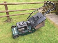 Hayter harrier 48 electric start with variable speed drive and rear roller for stripes