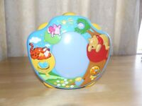 Winnie The Pooh musical baby projector