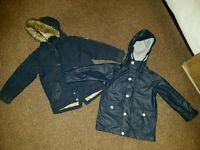 Boys 4-5 year jackets