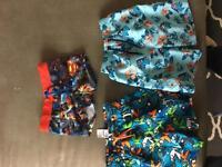 Boys swim shorts 2-3y