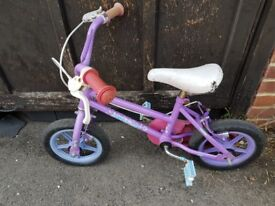 Little Girls Bike for sale