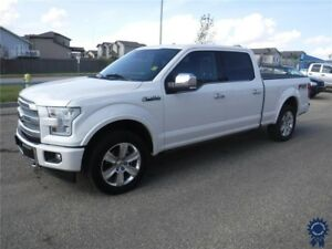 "2017 Ford F-150 Platinum Supercrew FX4 5 Passenger 157"" WB 4X4"