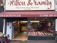 Butchers shop manager