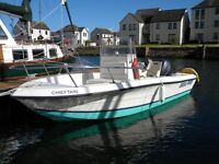 PRO FISHER 18 - FISHING BOAT WITH TRAILER TAYPORT