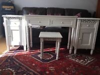 Dressing Table and 2 x Bed Side Tables