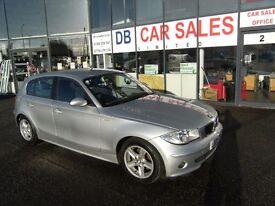2005 05 BMW 1 SERIES 1.6 116I SPORT 5D 114 BHP **** GUARANTEED FINANCE **** PART EX WELCOME