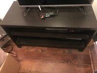 Tv stand dark wood rrp £60
