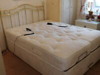 "2 x Mi Bed Aztec 2'6"" Adjustable Beds (Form A Double)"