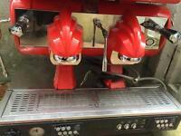 Sibilla 2 group head cma espresso machine