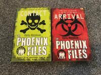 2 x the Phoenix files books