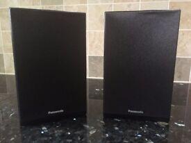 Two Panasonic Speakers