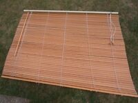 3 used Wooden Blinds