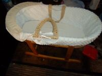 MOSES BASKET FOR BABIES