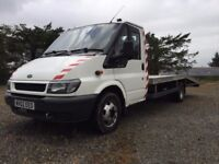 2002 Ford Transit Recovery Truck / Car Transporter 16ft aluminium bed (Private use for last 6 years)