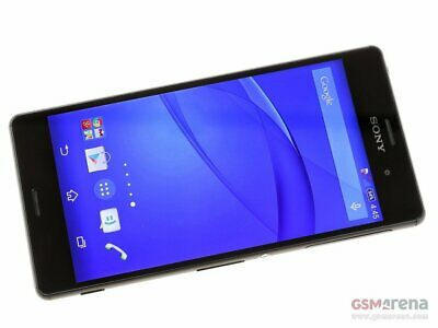 New *UNOPENDED* Sony Xperia Z3V D6708  (Verizon) Unlocked Smartphone/Black/32GB