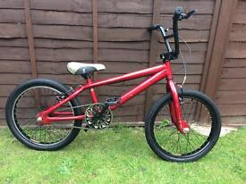 Cherry red, bmx bike