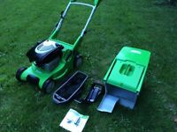 """Viking MB 545 VM 17"""" mulcher collector variable speed lawn mower"""