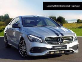 Mercedes-Benz CLA CLA 220 D WHITEART (silver) 2017-09-29