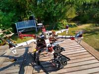 Drone DJI f550 hexacopter fpv