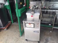(ORIGINAL ) FULL SERVICED HENNY PENNY FASTRON CHICKEN PRESSURE FRYER MACHINE CATERING COMMERCIAL