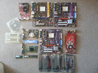 Computer parts for spares or repair