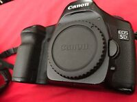 Canon 5d mark I (with new shutter)