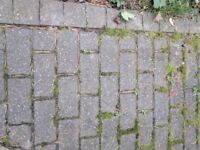 Commercial quality grey block paving stones and edging