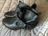 Marks and spencer leather boots