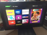 """42"""" Sanyo Freeview HDMI TV no stand - Collection Derby"""