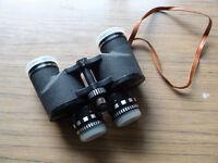 Zoom Binoculars - Octra 7x-12x 40, Field 5.5 at 12x, used, with original field case.
