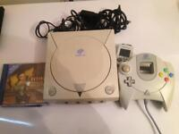 Sega Dreamcast Retro Video Games Console Bundle Fully Working And Complete Tested Local Collection