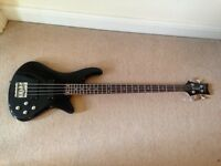 Schecter Deluxe-4 Electric Bass Guitar 4 String & Case