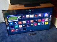 SAMSUNG 60 INCH SMART LED INTERNET TV WITH FREEVIEW HD BUILT IN.