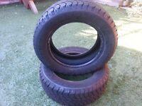 "Pair of Goodyear Wrangler Winter Tyres for 16"" rims"
