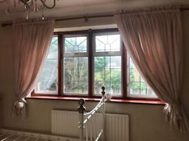 Curtains Pink Gingham