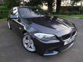 BMW 525d 3.0 M Sport 4dr Saloon Satellite Navigation (A/C) Bluetooth *IMMACULATE CONDITION*