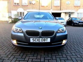 BMW 520D SE AUTOMATIC 4 DOOR SALOON NEW SHAPE FSH HPI CLEAR 2 KEYS EXCELLENT CONDITION